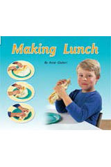 Rigby Flying Colors  Individual Student Edition Yellow Making Lunch-9781418905637