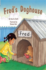 Rigby Flying Colors  Individual Student Edition Green Fred's Doghouse-9781418905941