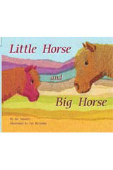 Rigby Flying Colors  Leveled Reader 6pk Red Little Horse and Big Horse-9781418906412