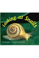 Rigby Flying Colors  Leveled Reader 6pk Red Looking at Snails-9781418906467