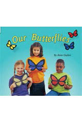 Rigby Flying Colors  Leveled Reader 6pk Red Our Butterflies-9781418906511