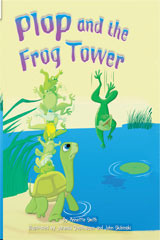 Rigby Flying Colors  Leveled Reader 6pk Blue Plop and the Frog Tower-9781418906764