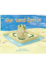 Rigby Flying Colors  Leveled Reader 6pk Blue Our Sand Castle-9781418906849