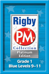 Rigby PM Platinum Collection  Single Copy Collection Blue (Levels 9-11)-9781418907884