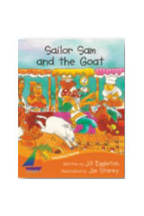 Rigby Sails Launching Fluency  Leveled Reader 6pk Orange Sailor Sam and the Goat-9781418910013