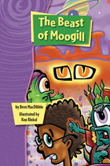 Rigby Gigglers  Student Reader Positively Purple The Beast of Moogill-9781418911201
