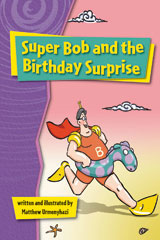 Rigby Gigglers  Leveled Reader 6pk Purple Super Bob and the Birthday Surprise-9781418911300