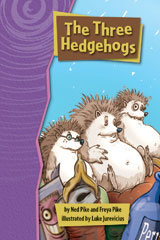 Rigby Gigglers  Leveled Reader 6pk Positively Purple The Three Hedgehogs-9781418911331