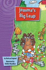 Rigby Gigglers  Leveled Reader 6pk Purple Jemma's Big Leap-9781418911355