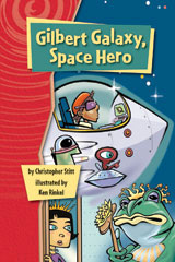 Rigby Gigglers  Student Reader Roaring Red Gilbert Galaxy Space Hero-9781418911430