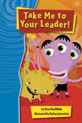 Rigby Gigglers  Student Reader Boldly Blue Take Me to Your Leader-9781418911683