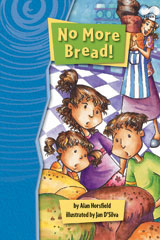 Rigby Gigglers  Leveled Reader 6pk Boldly Blue (Levels F-O) No More Bread!-9781418911799