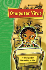 Rigby Gigglers  Student Reader Groovin' Green Computer Virus-9781418911904