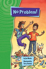 Rigby Gigglers  Student Reader Groovin' Green No Problem-9781418911942