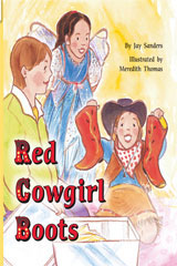 Rigby Flying Colors  Leveled Reader Bookroom Package Blue Red Cowgirl Boots-9781418913342