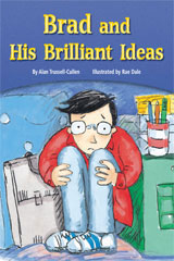 Rigby Flying Colors  Individual Student Edition Gold Brad and His Brilliant Ideas-9781418913977