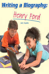 Rigby Flying Colors  Individual Student Edition Gold Writing a Biography: Henry Ford-9781418914134