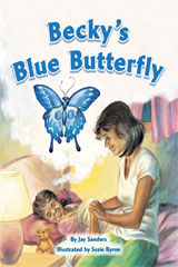 Rigby Flying Colors  Leveled Reader 6pk Gold Becky's Blue Butterfly-9781418914172
