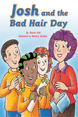 Rigby Flying Colors  Leveled Reader Bookroom Package Gold Josh and the Bad Hair Day-9781418914387