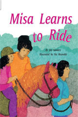 Rigby Flying Colors  Leveled Reader Bookroom Package Green Misa Learns to Ride-9781418914653