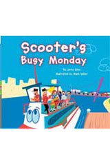 Rigby Flying Colors  Leveled Reader Bookroom Package Green Scooter's Busy Monday-9781418914707
