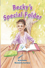 Rigby Flying Colors  Individual Student Edition Orange Becky's Special Folder-9781418915575