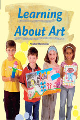 Rigby Flying Colors  Individual Student Edition Orange Learning About Art-9781418915636