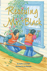 Rigby Flying Colors  Individual Student Edition Orange Rescuing Mr. Black-9781418915711