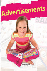 Rigby Flying Colors  Leveled Reader Bookroom Package Orange Advertisements-9781418915995