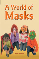 Rigby Flying Colors  Leveled Reader Bookroom Package Orange A World of Masks-9781418916183