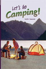 Rigby Flying Colors Individual Student Edition Purple Let's Go Camping