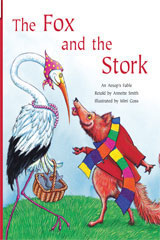 Rigby Flying Colors  Individual Student Edition Purple The Fox and the Stork-9781418916824