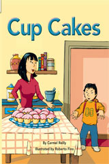 Rigby Flying Colors  Leveled Reader 6pk Purple Cup Cakes-9781418916886