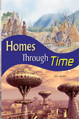 Rigby Flying Colors  Leveled Reader Bookroom Package Purple Homes Through Time-9781418917166
