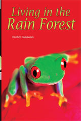 Rigby Flying Colors  Leveled Reader Bookroom Package Purple Living in the Rain Forest-9781418917197