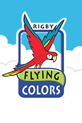 Rigby Flying Colors  Take-Home Package Purple The Fox and the Stork/Warning Lights the Dark-9781418917340