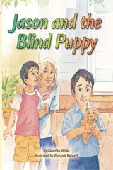 Rigby Flying Colors  Individual Student Edition Turquoise Jason and the Blind Puppy-9781418919245