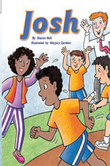 Rigby Flying Colors  Individual Student Edition Turquoise Josh-9781418919269