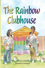 Rigby Flying Colors  Leveled Reader 6pk Turquoise The Rainbow Clubhouse-9781418919535