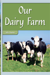 Rigby Flying Colors  Leveled Reader Bookroom Package Turquoise Our Dairy Farm-9781418919733