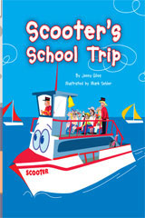 Rigby Flying Colors  Leveled Reader Bookroom Package Turquoise Scooters School Trip-9781418919764