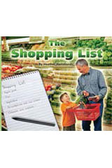 Rigby Flying Colors  Leveled Reader Bookroom Package Yellow The Shopping List-9781418920036