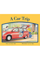 Rigby PM Stars  Individual Student Edition Red (Levels 3-5) A Car Trip-9781418924157