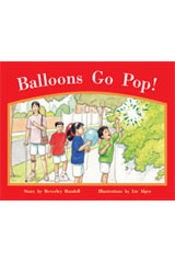Rigby PM Stars  Individual Student Edition Red (Levels 3-5) Balloons Go Pop!-9781418924188
