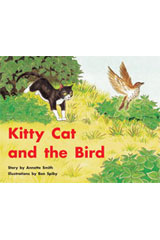 Rigby PM Stars Individual Student Edition Red (Levels 3-5) Kitty Cat and the Bird
