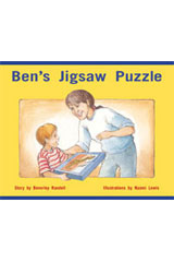 Rigby PM Stars  Individual Student Edition Red (Levels 3-5) Ben's Jigsaw Puzzle-9781418924225