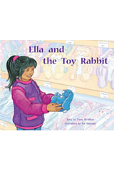 Rigby PM Stars  Individual Student Edition Yellow (Levels 6-8) Ella and the Toy Rabbit-9781418924256