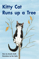 Rigby PM Stars  Individual Student Edition Yellow (Levels 6-8) Kitty Cat Runs Up a Tree-9781418924287