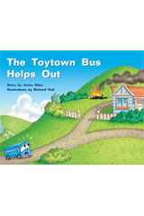 Rigby PM Stars  Individual Student Edition Yellow (Levels 6-8) The Toytown Bus Helps Out-9781418924300