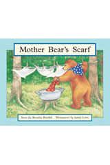 Rigby PM Stars  Individual Student Edition Yellow (Levels 6-8) Mother Bear's Scarf-9781418924317